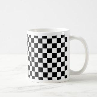 Taza De Café Modelo de tablero de ajedrez