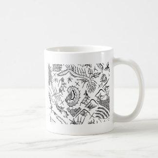 Taza De Café Modelo indonesio de la materia textil de los