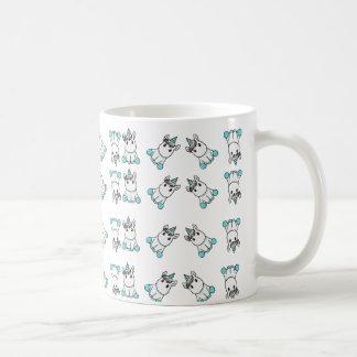 Taza De Café modelo lindo del unicornio