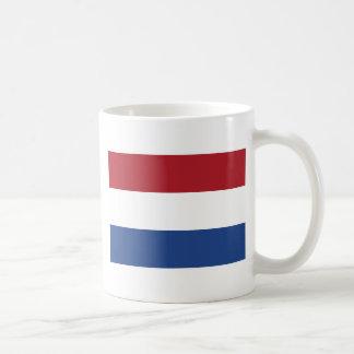 Taza De Café Modelo patriótico de Netherland Holanda