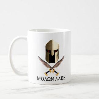TAZA DE CAFÉ MOLON LABE