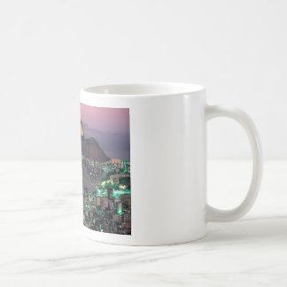 Taza De Café Montaña del pan de azúcar del Brasil Río de