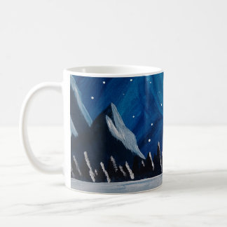 Taza De Café Montañas del invierno