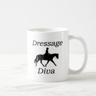 Taza De Café Montar a caballo de la diva del Dressage