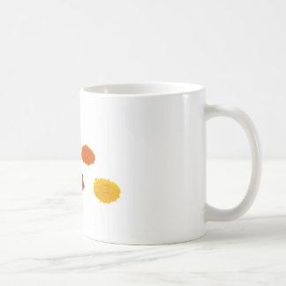 Taza De Café Montones de varios especias del condimento en