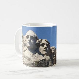 Taza De Café Monumento nacional presidencial del monte Rushmore