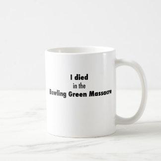 Taza De Café Morí en la masacre de Bowling Green