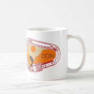 Taza De Café Mosquetón que sube de Zion
