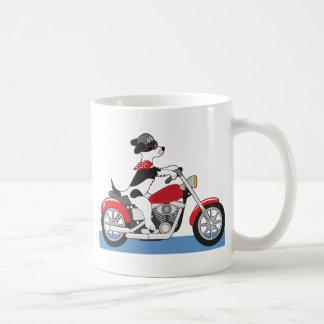 Taza De Café Motocicleta del perro