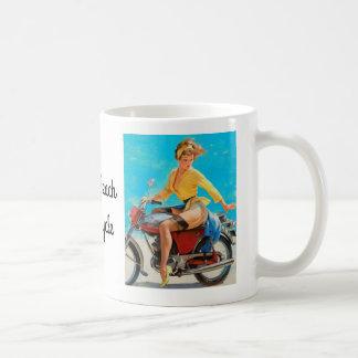 Taza De Café Motocicleta modela