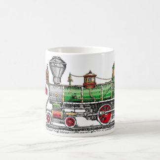 Taza De Café Motor de vapor de Baldwin