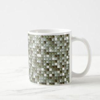 taza de café mozaic