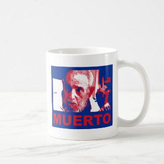 Taza De Café Muerto de Castro (cubana de colores de bandera)