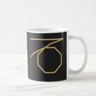 Taza De Café Muestra del zodiaco de Capricornus básica