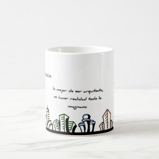 Taza De Café Mug Arquitecto