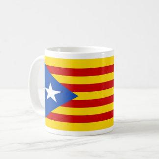 Taza De Café mug embala bandera catalana independentista