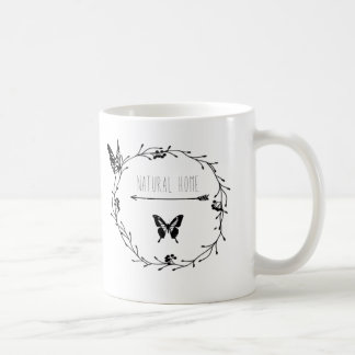 """Taza De Café Mug """"natural hogar """""""