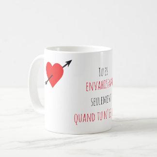 Taza De Café Mug regalo para su mujer - Cita de amor