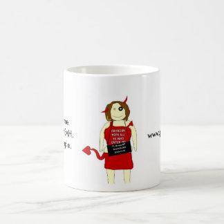 Taza De Café Mugshot de TA, usted me quiere. Quiero su BAH. Es…