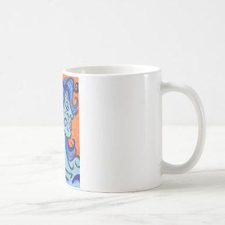 Taza De Café mujer azul