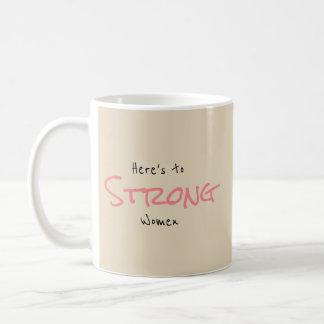 Taza De Café Mujeres fuertes
