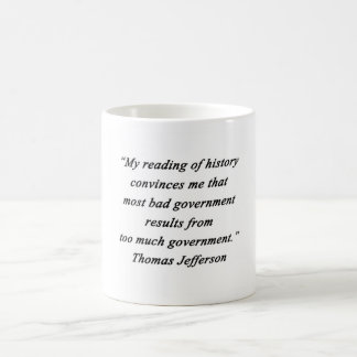 Taza De Café Mún gobierno - Thomas Jefferson