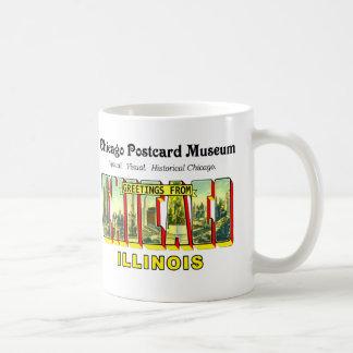 Taza De Café Museo de la postal de Chicago