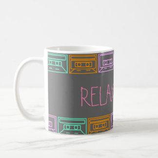 Taza De Café Music&Coffe= Relax