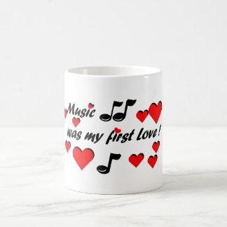 Taza De Café Music que my first Love
