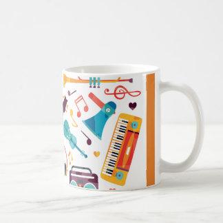 Taza De Café Música de la bebida