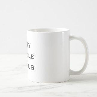Taza de café MUY ESTABLE del GENIO