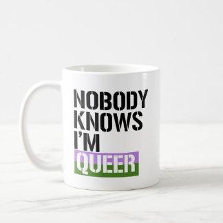 Taza De Café Nadie sabe que tengo - - los razón raros de LGBTQ