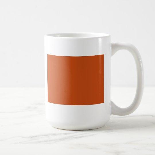 Taza De Café Naranja quemado
