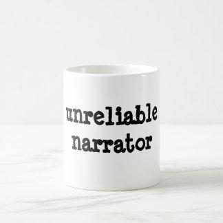 Taza De Café narrador no fiable