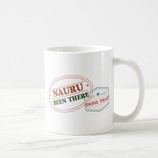 Taza De Café Nauru allí hecho eso