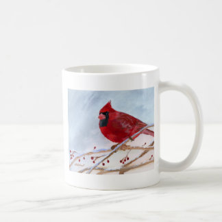 Taza De Café Navidad cardinal