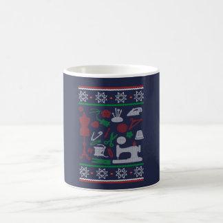 Taza De Café Navidad de costura