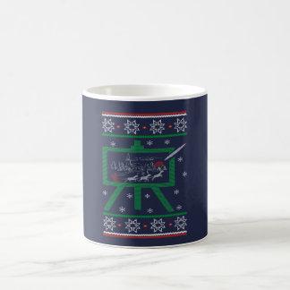 Taza De Café Navidad de la pintura