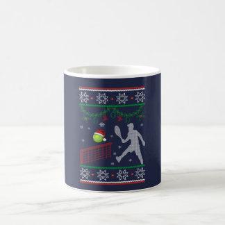 Taza De Café Navidad del tenis