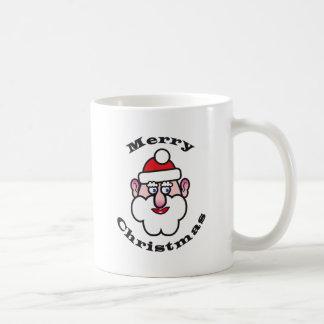Taza De Café Navidad Papá Noel, Felices Navidad