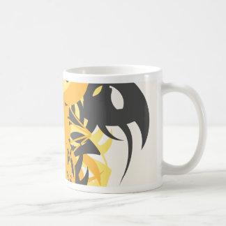 Taza De Café Némesis de la abstracción diez
