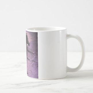 "Taza De Café ""Niebla púrpura """