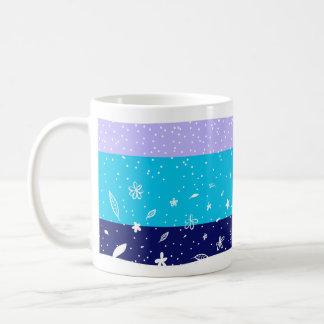 Taza De Café Nieve o caída