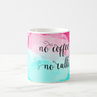 Taza De Café ♛ ningún café ningún Watercolour de la película