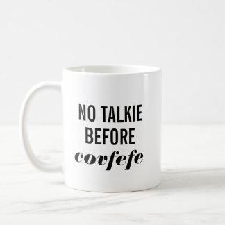 Taza De Café Ninguna película hablada antes de Covfefe