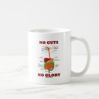 Taza De Café Ninguna tripa ninguna gloria (humor de la anatomía