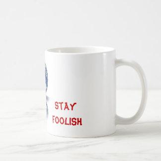 Taza De Café Ningunos conformes del te. Ningún dejes de ser