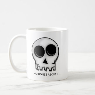 Taza De Café Ningunos huesos sobre él