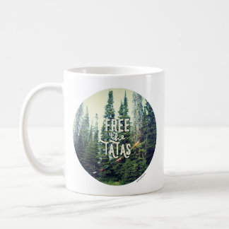 Taza De Café Ningunos sujetadores permitidos en el bosque