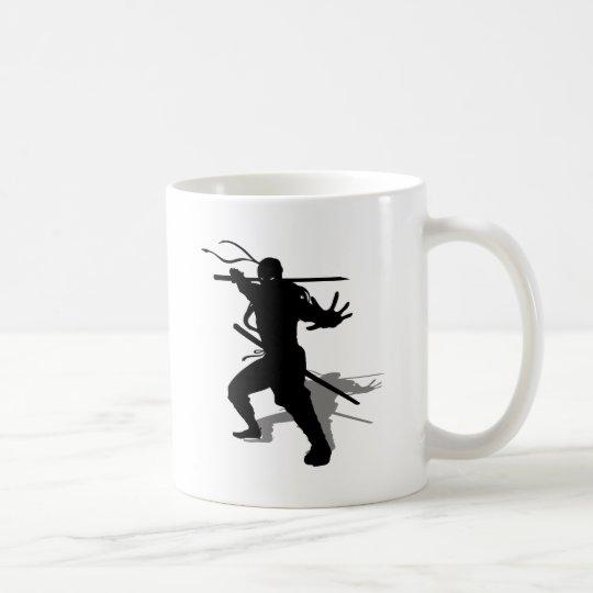 Taza De Café Ninja con sombra